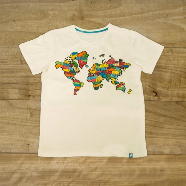 100% organic cotton T-shirt by Andrea Garcia