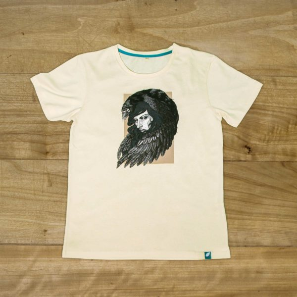 100% organic cotton T-shirt by Gabrielle Germano