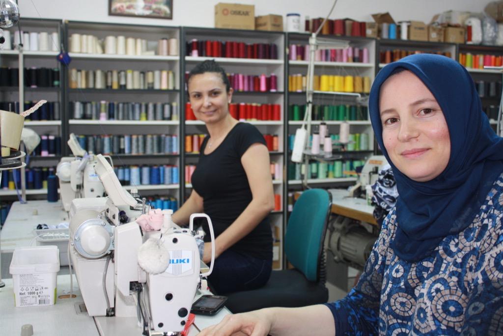 GOTS-certified producers in Izmir, Turkey